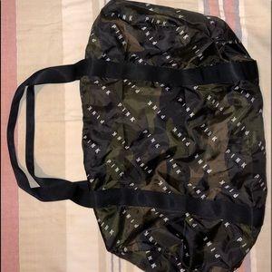 Camo Nylon Duffle Bag